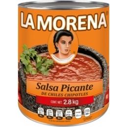 Salsa de chile chipotles  adobados La Morena