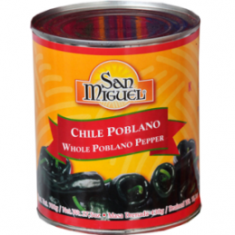 Whole Poblano Pepper 780 gr