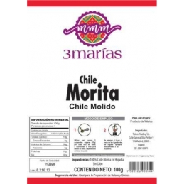 Chile Morita Molido100 gr