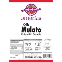 Chile mulato molido grande Tres Marias