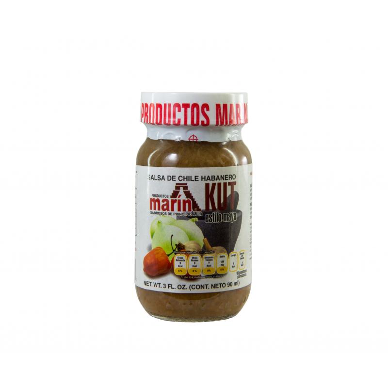 Salsa de chile habanero KUT - Marín