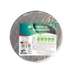 Tortillas de maíz azul 15 cm - Guanajuato