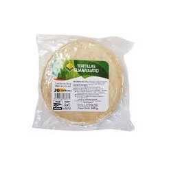 White Corn Tortillas 15 cm...