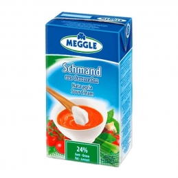 Sour Cream 24% Meggle 1L