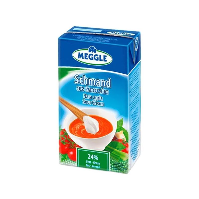Crema agria grande - Meggle