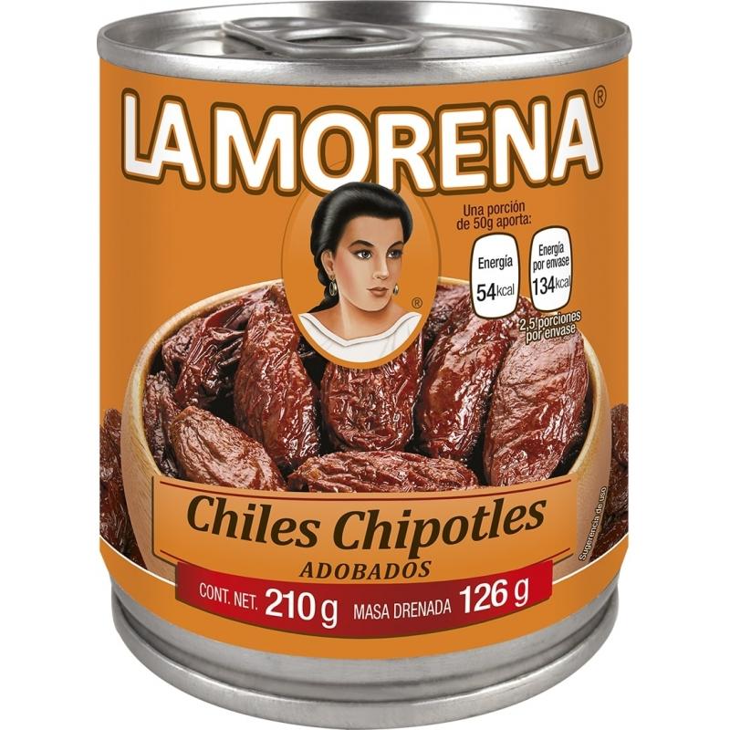 Chile chipotes adobados La Morena