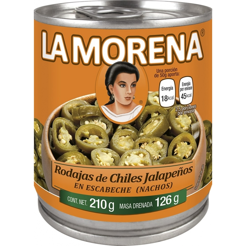 Chiles Jalapeños tipo Nacho La Morena