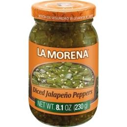 Sliced Jalapeños peppers...