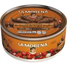 Jalapeños rellenos de frijol La Morena