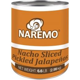 Nacho sliced  jalapeños 3 kg
