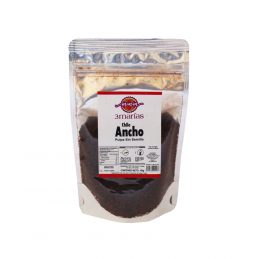 Seedless dried ancho pepper...
