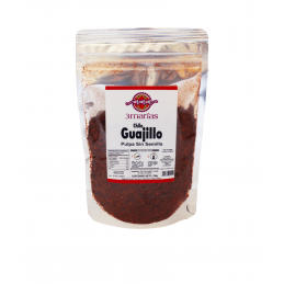 Seedless dried Guajillo...