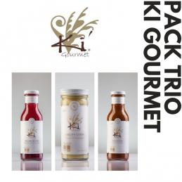 Pack trio de salsas Ki Gourmet