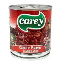 Chiles chipotles adobadas grande - Carey