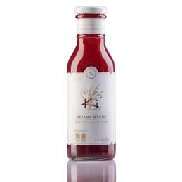 Raspberry sauce with...