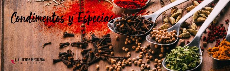 Condimentos y especias mexicanas