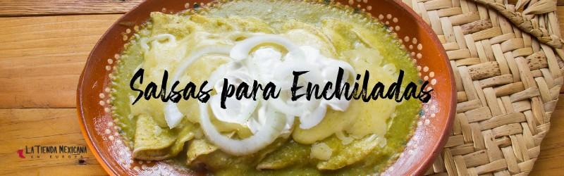 salsas para enchiladas