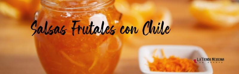 salsas frutales con chile