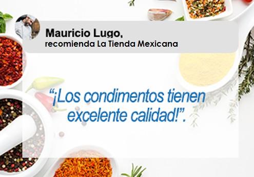 Testimonial de salsas mexicana