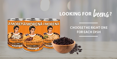 Beans La Morena, choose the one indicated for each dish