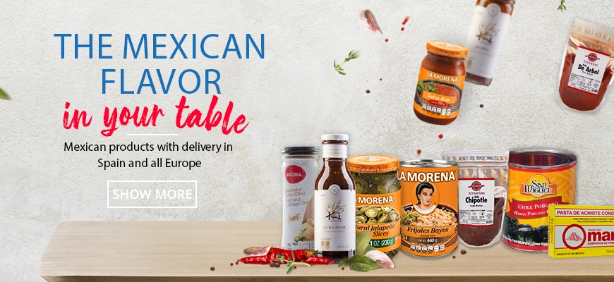 Mexican flavor at your table