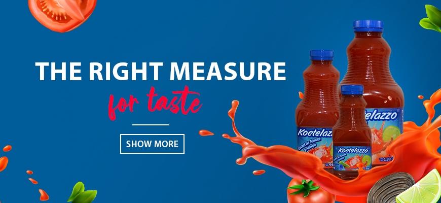 Koctelazzo, the right measure for taste