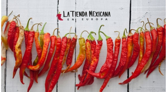 The Mexican Store.  The Dried Chili peppers. Their origins and other stories.